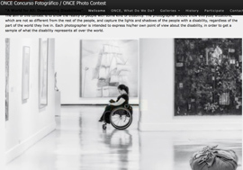 15th Photographic contest: A world for all: Overcoming disabilities