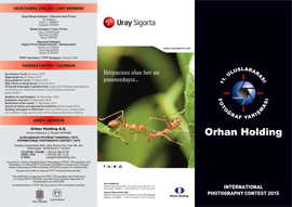 11th Orhan Holding International Photography Contest