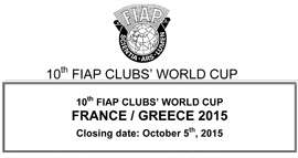 10th FIAP CLUBS' WORLD CUP
