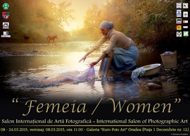 "The International Salon of Women Photographers entitled ""The Woman"""