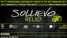 "3rd International Photography Contest ""Sollievo – Relief"""