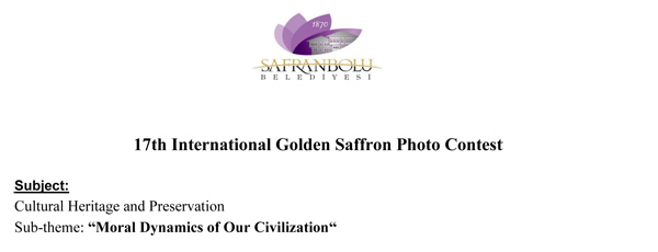 17th International Golden Saffron Photo Contest