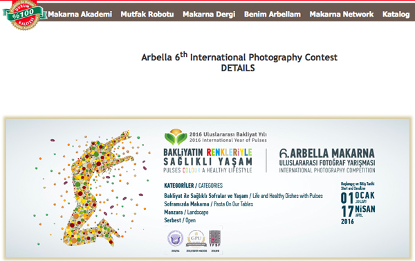 Arbella 6th International Photography Competition