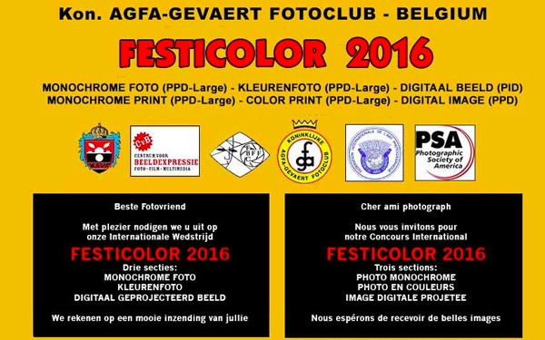 Festicolor 2016, 32nd International Contest