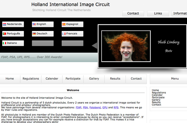 10th Holland International Image Circuit