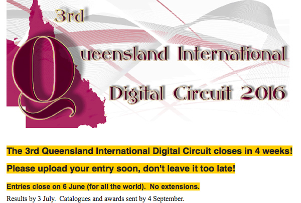 3rd Queensland International Digital Circuit