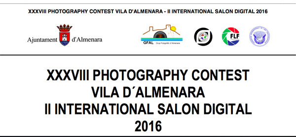 XXXVII Photography Contest Vila d'Almenara - II International Salon Digital