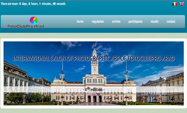 International Photographic Art Salon of FotoClubPro Arad