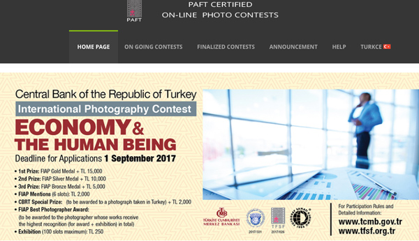 International Photography Contest of the Central Bank of the Republic of Turkey