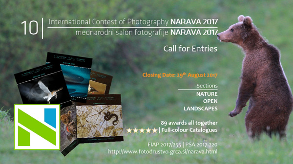 10th International Contest of Photography Narava 2017