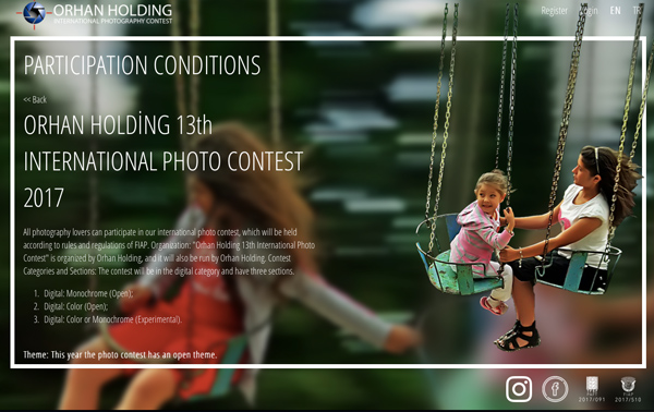 13. Orhan Holding Photography Contest
