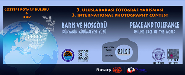 Izmir Götztepe Rotary Club - 3rd International Photography Competition