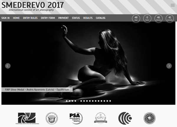 7th INTERNATIONAL SALON OF ART PHOTOGRAPHY SMEDEREVO 2017