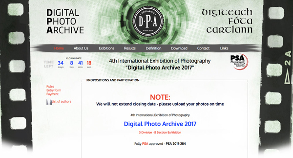 Digital Photo Archive 2017
