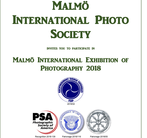 Malmö International Exhibition of Photography 2018