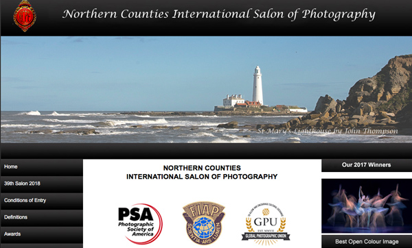 39th Northern Counties International Salon