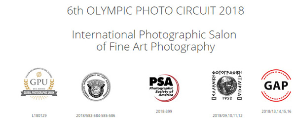 6th OLYMPIC PHOTO CIRCUIT 2018