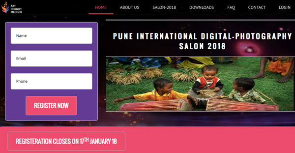 1st PUNE INTERNATIONAL DIGITAL-PHOTOGRAPHY SALON 2018