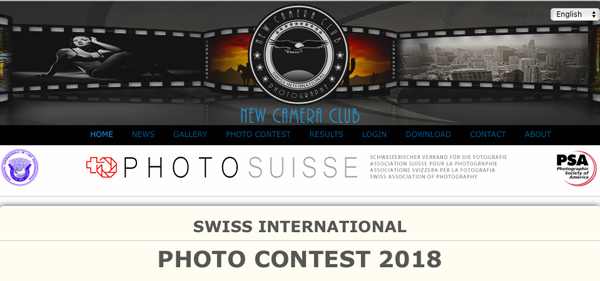SWISS INTERNATIONAL PHOTO CONTEST 2018