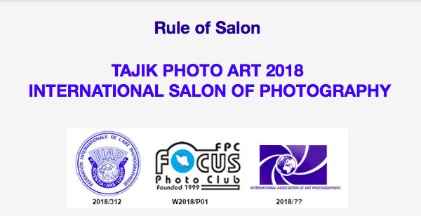TAJIK PHOTO ART 2018