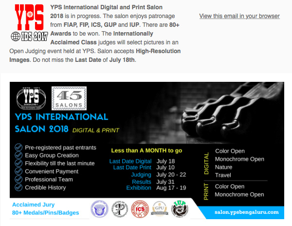 YPS International Digital and Print Salon