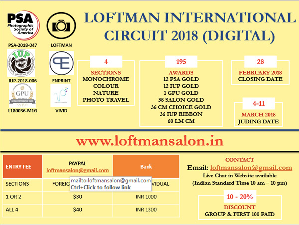 Loftman International Circuit 2018