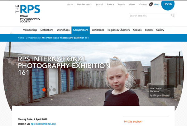 RPS The International Photography Exhibition
