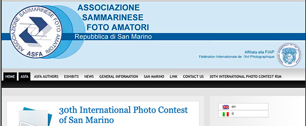 International Photo Contest of San Marino