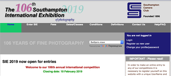 106th Southampton International Exhibition