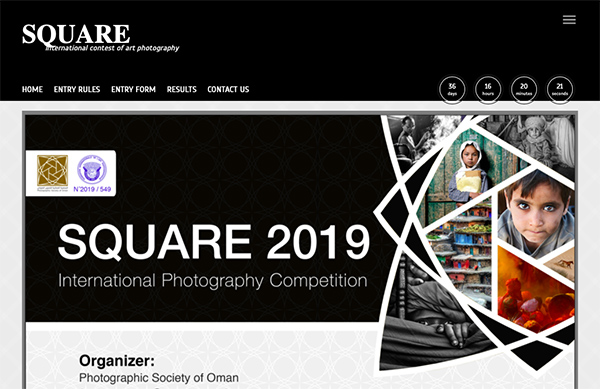 SQUARE2019 International Photography Competition