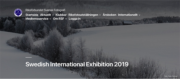 Swedish International Exhibition of Photography 2019