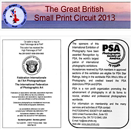 The 5th Great British Small Print Circuit