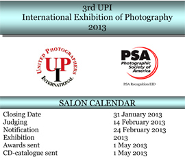 3rd UPI International Exhibition of Photography 2013