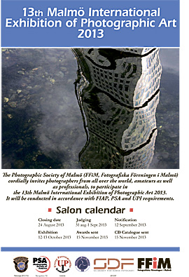 13th Malmö International Exhibition of Photographic Art
