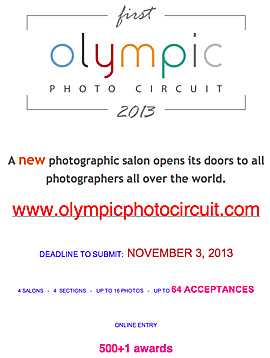 1st Olympic Photographic Circuit 2013