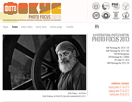 3rd International Exhibition of Art Photography Photo Focus 2013
